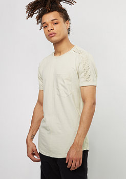 Black Kaviar T-Shirt Sypress beige