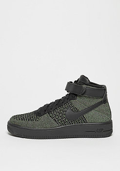 Basketballschuh Air Force 1 Flyknit palm green/black/white