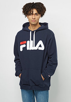 FILA Urban Line Basic Hoody Classic Logo Kangaroo black iris
