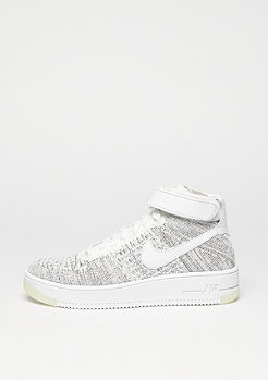 Basketballschuh Wmns Air Force 1 Flyknit white/white/black