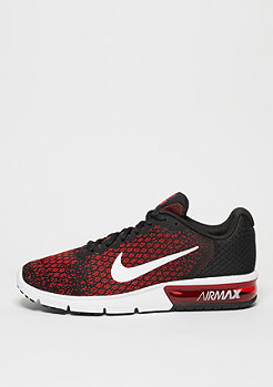 Air Max Sequent 2 black/white/team red