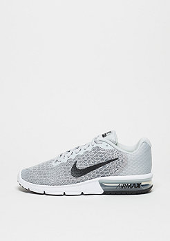 Schuh Wmns Air Max Sequent 2 pure platinum/black/cool grey