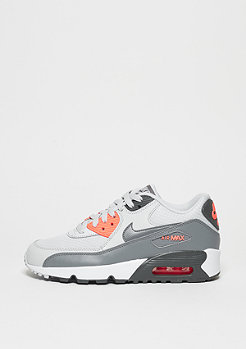 Schuh Air Max 90 Mesh (GS) pure platinum/cool grey/lava glow