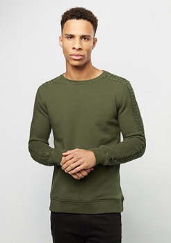 Sweatshirt Sokof kaki
