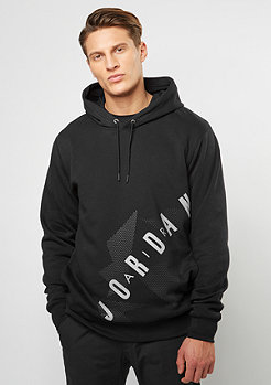 Hooded-Sweatshirt AJ 6 Fleece black/anthracite