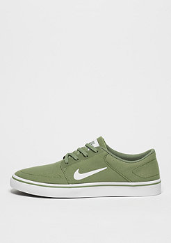 Skateschuh Portmore Canvas palm green/white