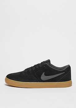 Skateschuh Check Solarsoft black/anthracite/gum dark brown