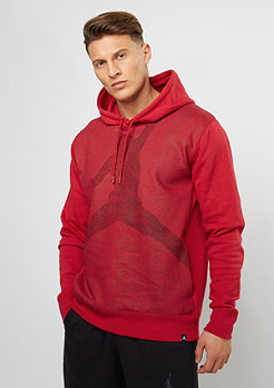 Hooded-Sweatshirt Jumpman Brushed Graphic PO 1 gym red/black