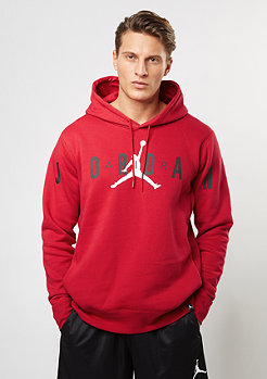 Hooded-Sweatshirt Jumpman Brushed Graphic PO 2 gym red