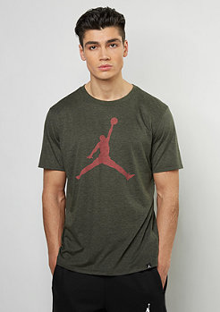T-Shirt The Iconic Jumpman dark army htr/max orange