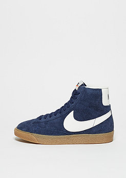 Schuh Wmns Blazer Mid Suede Vintage binary blue/ivory/gum light brown