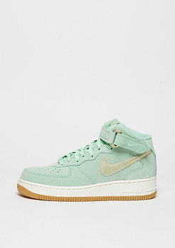 Basketballschuh Wmns Air Force 1 '07 Mid Seasonal enamel green/metallic gold star