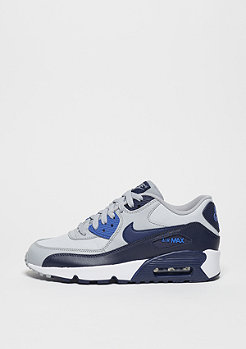 Schuh Air Max 90 Mesh (GS) wolf grey/binary blue/comet blue