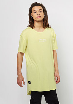 Cayler & Sons T-Shirt You Hear Drop Shoulder Scallop yellow