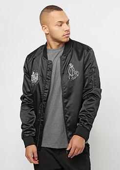 C&S WL Jacket Ble$$ed Bomber black