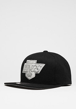 Snapback-Cap Melton Proper NHL Los Angeles Kings black