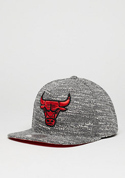 Snapback-Cap Grey Noise NBA Chicago Bulls grey/red
