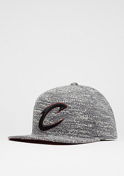 Snapback-Cap Grey Noise NBA Cleveland Cavaliers grey/burgundy
