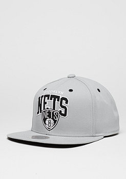 Snapback-Cap Black And White Arch grey