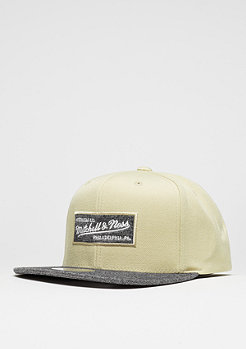 Snapback-Cap Melange Infill sand/black