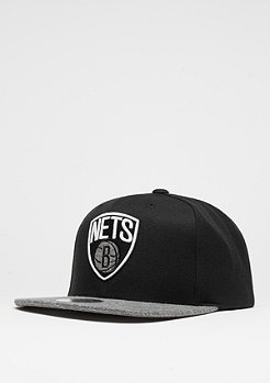 Melange Infill NBA Brooklyn Nets black/grey