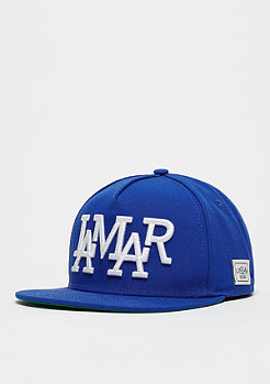 Snapback-Cap WL Lamar blue
