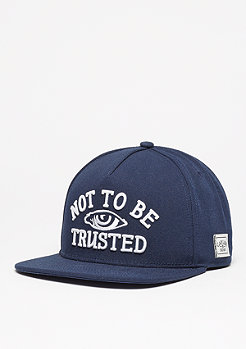 Snapback-Cap WL Fingers Crossed navy