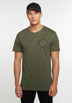 CD Tee Dragon olive/multi