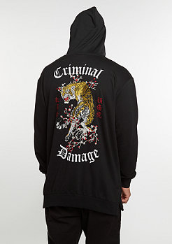 Hooded-Sweatshirt Tiger black/multi