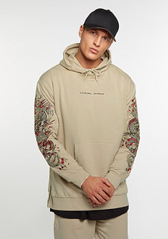 Hooded-Sweatshirt Fire nude/multi