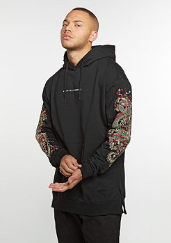 Hoodes-Sweatshirt Fire black/multi