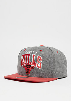 Snapback-Cap Nubuck Team Arch NBA Chicago Bulls grey/black
