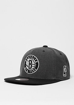 Snapback-Cap G3 Logo NBA Brooklyn Nets charcoal/black