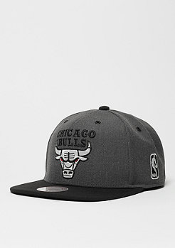 Snapback-Cap G3 Logo NBA Chicago Bulls charcoal/black