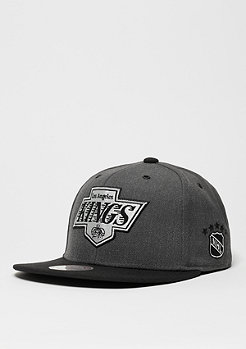 Snapback-Cap G3 Logo NHL Los Angeles Kings charcoal/black