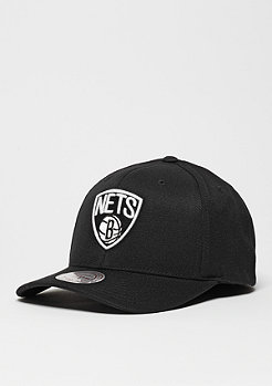 Baseball-Cap Black & White Logo 110 NBA Brooklyn Nets black