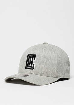 Black & White Logo 110 NBA Los Angeles Clippers grey