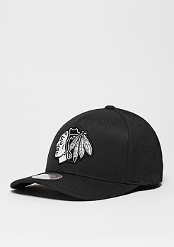Baseball-Cap Black & White Logo 110 NHL Chicago Blackhawks black