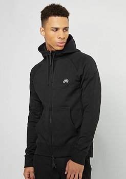 SB Everett Full-Zip Hoodie black/white