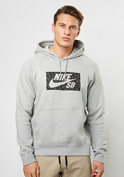 Hooded-Sweatshirt SB Icon Jagmo dk grey heather