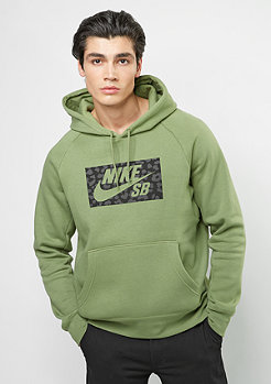 Hooded-Sweatshirt SB Icon Jagmo palm green