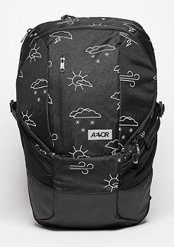 Rucksack Sportspack Weatherman black/white
