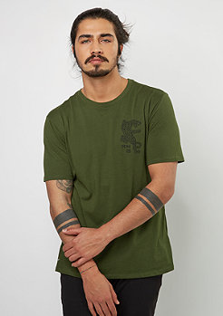 T-Shirt Dry DJ Jag legion green/black
