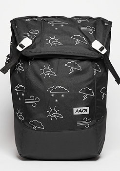Rucksack Daypack Weatherman black/white