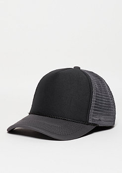 Trucker-Cap Baseball High Profile dark grey/black