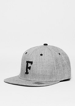 Letter F heather grey
