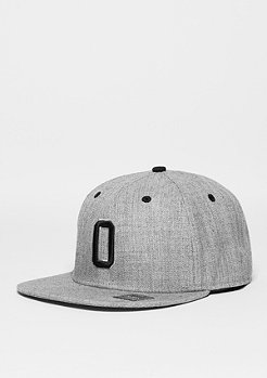 Letter O heather grey