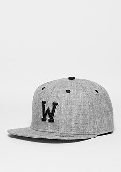 Masterdis Letter W heather grey