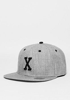 Letter X heather grey