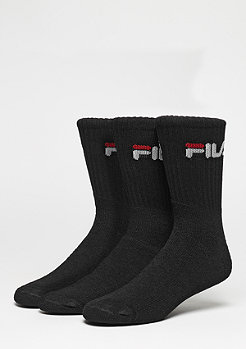 FILA Men Sport Socks 3Pack F9505 black